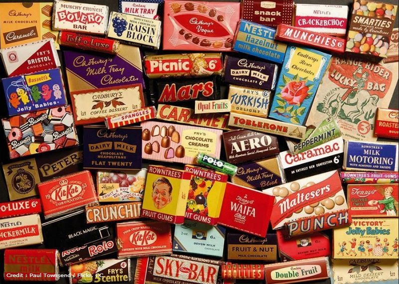 Old Fashioned British Sweets From Your Childhood